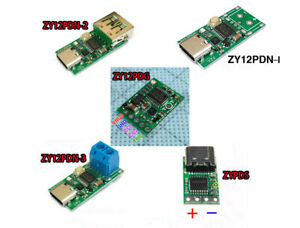 Type-C USB-C PD2.0 3.0 to DC USB Fast Charge Trigger Poll Detector 9V 12V 15V 20