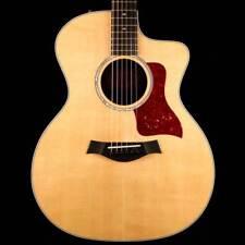 Taylor 214ce DLX Grand Auditorium Acoustic-Electric Natural