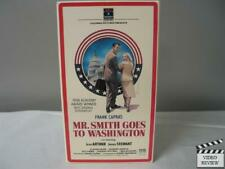 Mr. Smith Goes to Washington Vhs James Stewart, Jean Arthur; Frank Capra