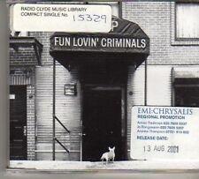 (BN832) Fun Lovin' Criminals, Bump - 2001 DJ CD