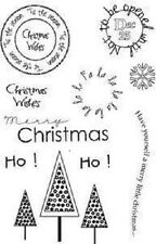 ART STAMPS A6 Clear Stamps TIS THE SEASON Marion Emberson PICS026 Ho Trees