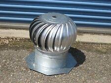 New Aluminum Roof Wind Turbine Ventilator Leslie Locke AC- 12