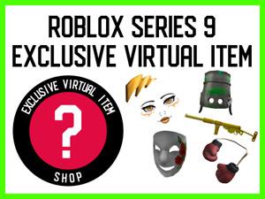 ROBLOX Action Series 9 Box - Exclusive Virtual Item CODES!!