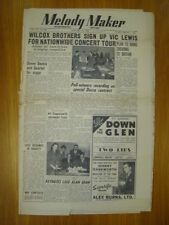 MELODY MAKER 1950 JAN 14 WILCOX BROTHERS VIC LEWIS JAZZ