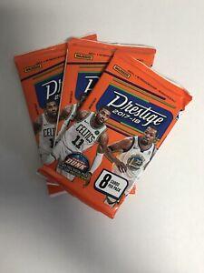 2017-18 NBA Panini Prestige Retail Pack - 8 Cards Per Pack - Bundle Of 3 Packs
