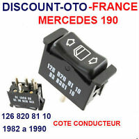 1268208110  MERCEDES 190 BOUTON COMMANDE DE LEVE VITRE GAUCHE  NEUF