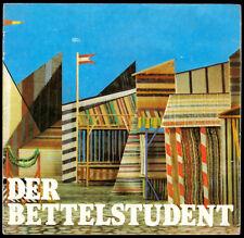 Theaterprogramm, Komische Oper Berlin, Der Bettelstudent, 1981