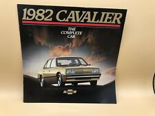 1982 82 Chevy CAVALIER Brochure Chevrolet Book Cl HATCHBACK STATION WAGON