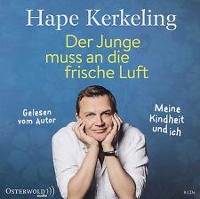 HAPE KERKELING liest : DER JUNGE MUSS AN DIE FRISCHE LUFT - 8 CD