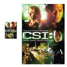 CSI Las Vegas Crime Scene Investigation Season 11 DVD Drama Movie Home Theater
