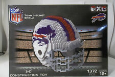 Buffalo bills BRXLZ Team Helmet 3D Toy PUZZLE 1372 Pcs SET NFL Ages 12+ GIFT