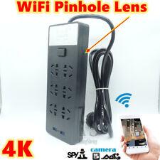 HD 4K Mini Spy WiFi Wireless Camera Security Remote Motion Detection Socket DVR