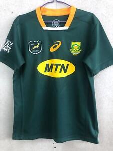 South Africa 2021 Springboks HOME rugby jersey shirt S-3XL