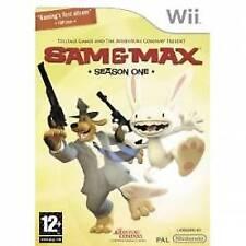 Sam & and Max Season 1 Game Wii