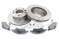 Bremsensatz, Scheibenbremse für Bremsanlage Vorderachse MAPCO 47809