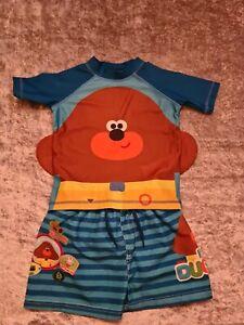 Baby Boys Hey Duggee 18-24 Months Sunsafe Swim Vest Shorts
