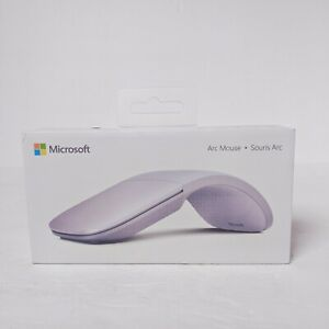 Microsoft Surface Arc Bluetooth 4.0 Wireless Mouse, Lilac #ELG-00026 1791
