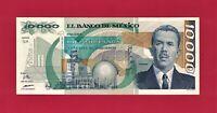 Mexico UNC 10,000 Pesos (May 16, 1991) Note (P-90d.6) Depicting Gen. L. Cardenas
