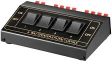 4Zone Speaker Selector Switch Switcher Splitter 200Watt
