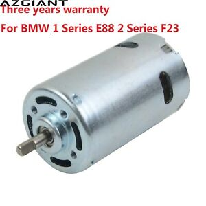 for BMW 1 Series E88 2 Series F23 Convertible Roof Hydraulic Pump Motor