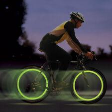 Luce Bicicletta Valvole LED Moto Copri Auto Ruota Bike Bici Luce Car xa
