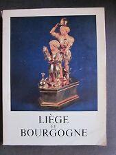 Liège et Bourgogne - Wallonie 1968 illustrations catalogue