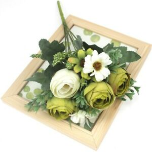 Artificial Peony Rose Flowers Silk Fake Camellia Wedding Flower Party Decoration
