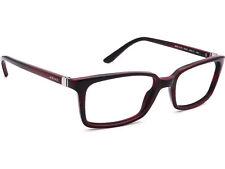 Versace Eyeglasses MOD.3174 5045 Burgundy Rectangular Frame Italy 53[]17 140