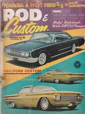 Rod & Custom Nov 1963 - Alexander Brothers - Lotus 25 - Ford Custom - 63 Tempest