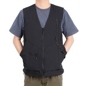 Black Professional Dog Handler Vest M/L Size Dog Pet Pet Trainer Vest Supplies