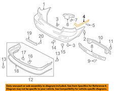 SUZUKI OEM 08-13 SX4 Rear Bumper-Side Bracket Right 7182175K00