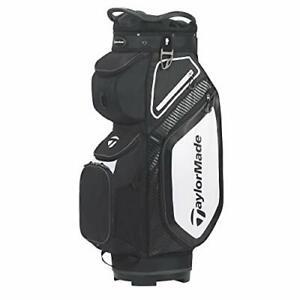 TaylorMade TM20 Cart8.0 Bag Black White Charcoal Cart Bag, Black, One Size