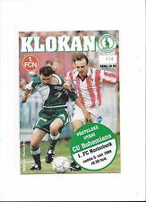 CU BOHEMIANS PRAG - 1.FC NÜRNBERG, 05.09.1999, Vorbereitungsspiel