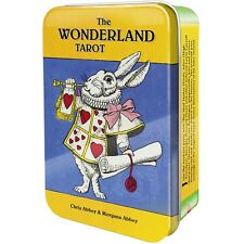 The Wonderland Tarot Cards Deck Collectible Tin Alice in Wonderland Fantasy