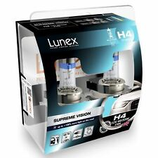 Lunex H4 12V 60/55W 472 Supreme Vision Bombillas Blanco 3700K Set