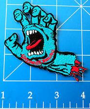 SANTA CRUZ SCREAMING HAND PATCH, DRESS UP YO RAGGEDY ASS!