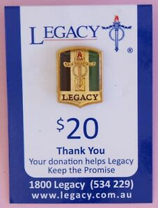 New Legacy Badge - $20 Tri-colour