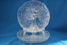 """CRISTAL D' ARQUES MALLORY 10.5"""" DINNER PLATES SET OF 4"""