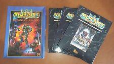 Mutant Crónicas el juego por papel + 3 albi tapas duras suplemento de rpg bundle