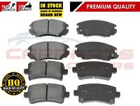 FOR VAUXHALL INSIGNIA 1.8 2.0 CDTi 2008-2013 FRONT AND REAR BRAKE PADS SET