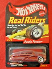 2004 Hot Wheels Collectors.com Real Riders Series 4 Purple Passion #7315