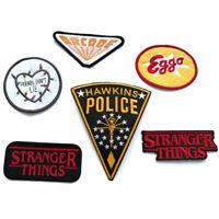Stranger Things Hawkins Police Iron On Patch for Cosplay/Fancy Dress Fashion New