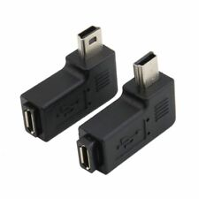 90 Degree Right Left Angle Mini USB Type A Male To Micro USB Female Adapter