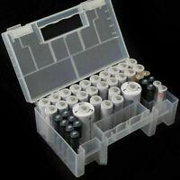 Portable Hard Plastic Case Storage Box Holder Organiser for AA AAA C Battery