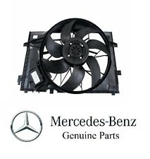 Mercedes W203 W209 C230 C240 C32 C320 CLK320 GENUINE Engine Cooling Fan Motor