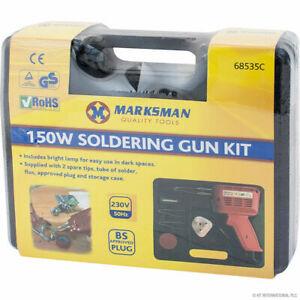 150W SOLDERING GUN KIT IN BLOW CASE - 68535C