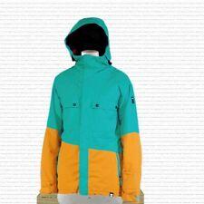 Ride Snowboarding Rainier Snowboard Jacket Mens Size large Aqua New