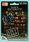 DUCK DYNASTY Cast members in US Flag Outfits 2013 Gift Card( $0 )