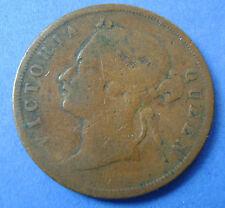 Straits Settlements   1 cent one cent 1887 Queen Victoria KM# 16