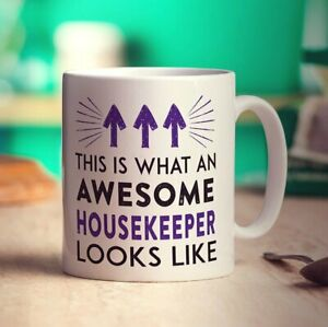 This Is What An Awesome Housekeeper Looks Like Mug